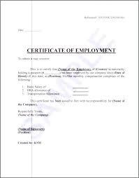 New Sample Certificate Employment Nurses Choice Image Certificate