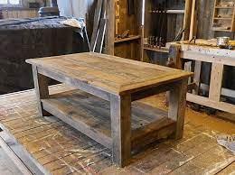 barnwood coffee table rustic coffee tables
