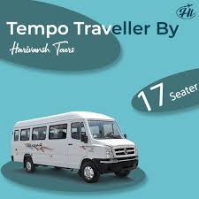 17 seater tempo traveller on in
