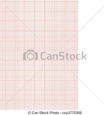Graph Paper A4 Sheet Red