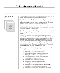 Sample Project Plan Outline Sample Project Management Plan 15 Examples In Word Pdf
