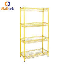 household metal storage wire rack shelving