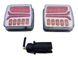Tractor Supply Magnetic Trailer Lights Led Magnetic Wireless Trailer Lights Cable Free Tow Rear Tail Towing Battery Car Van Truck