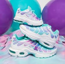 White Light Aqua Air Max Plus Outfit For When Youre Feeling Magical