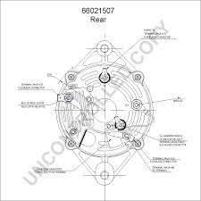 leece neville 66021507 rear dim drawing