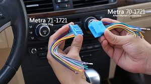 metra 70 vs 71 wiring harness differences explained youtube metra 40-vw12 at Metra Mk4 Wiring Harness