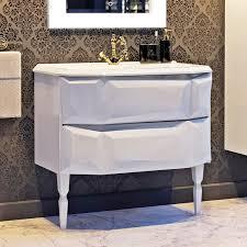 <b>Тумба с раковиной Aima</b> Design Crystal 90 white - купить в Москве ...