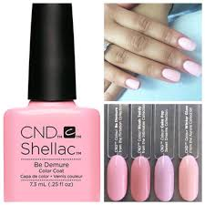 <b>CND Shellac</b> in Be Demure ~ Love it !!!! | Shellac nail colors, Shellac ...