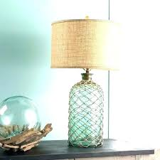 recycled glass lamp base aqua ss table lamp tall lamps base teal blue recycled chandeliers south
