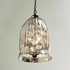 pendant lighting small mercury glass light shades at