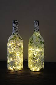 Lights For Wine Bottles Wine Bottle Lamps 1 Left Of Center Designs