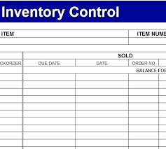 Free Excel Inventory Management Template How To Manage With Tracking ...