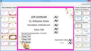 Making Certificates Online Free Download Free Certificate Maker 1 0 0