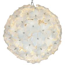 murano glass chandelier mid century design lotus flower regarding popular home lotus flower chandelier prepare