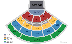 Cricket Amphitheater Chula Vista Seating Chart North Island Credit Union Amphitheatre Upcoming Shows In