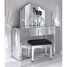 mirrored furniture decor. Romano Mirrored Dressing Table Set Furniture Decor A
