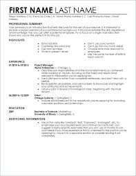 Professional Business Resume Templates Business Resume Template ...