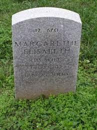 Margarethe Elisabeth Hickman (1929-2000) - Find A Grave Memorial