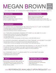 Free Resume Templates 89 Amazing Best Careerbuilder Html
