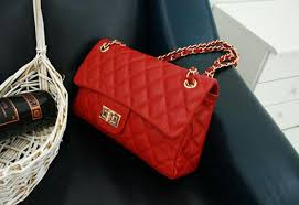 Red Leather Quilted Purse | High On Leather & Red quilted purse · red leather quilted handbag ... Adamdwight.com