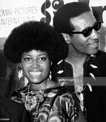 Actress Abbey Lincoln and musician Max Roach attend the premiere of... |  Musician, Famous faces, Jazz artists