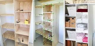 how to customize a closet for improved storage capacityhow to build shelves for closet view in