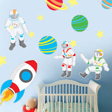 space explorer wall decal set zoom