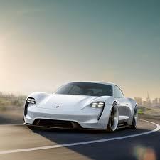 porsche new car releaseTribute to tomorrow Porsche Concept Study Mission E  Dr Ing