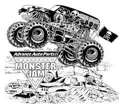 Small Picture Monster Jam Coloring Pages at Coloring Book Online