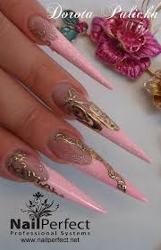 96 best Stiletto Nails I Love images on Pinterest | Nail designs ...