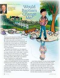 Would Baptism Change Me?