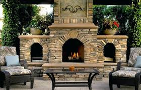 corner outdoor fireplaces harmony elements traditional patio fireplace kits gas