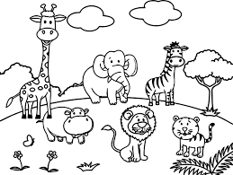Small Picture Zoo Coloring Pages zimeonme