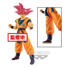 Banpresto Dragon Ball Broly Movie Goku Rose