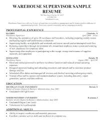 Basic Warehouse Resume Templates. Sample Warehouse Resume Template ...