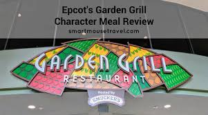 epcot s garden grill character meal gives you the chance to meet mickey and some of his