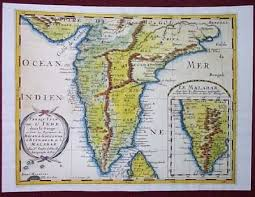 antique indian maps from 1600\u2032s antique indian maps India Map Before 1600 sanson antique indian map from 1690 india map before 1600