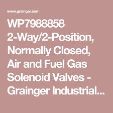 Grainger Industrial Vending Machines Mesmerizing WP48 48Way48Position Normally Closed Air And Fuel Gas