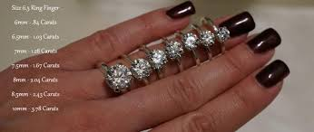 1 carat diamond size how to pick a high quality diamond in five steps