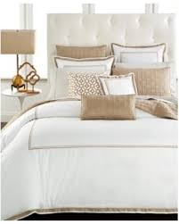 tan duvet cover. Hotel Collection Embroidered Frame Full/Queen Duvet Cover, Created For Macy\u0027s - Tan/ Tan Cover