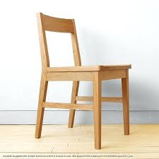 simple wooden chair. Simple Wooden Desk Chair Learning Alder Innocent Materials Tree .