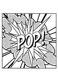 Pop Art 25073 Pop Art Disegni Da Colorare Per Adulti