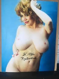 Kitten Natividad Nude Signed Adult Film Star 8x10 Photo.
