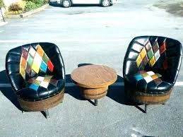 barrel table and chairs whiskey barrel furniture for table chairs antique whiskey barrel table and