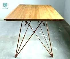 wood desk legs desk legs wood furniture legs copper table legs zoom copper table legs tapered