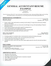 Example Job Resume General Accountant Resume Sample Job Resume ...