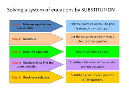 ppt solving a system of equations by