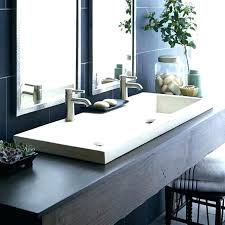 narrow bathroom sink. Narrow Trough Sink Long Bathroom Inside Sinks For Bathrooms Ideas N