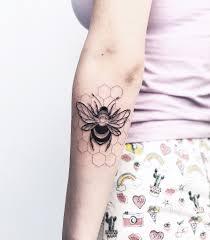 Tattoo Bee тату пчела Tattoos искусство тату тату и