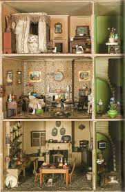 Best Images About Historic Dolls House Interiors On Pinterest - Dolls house interior